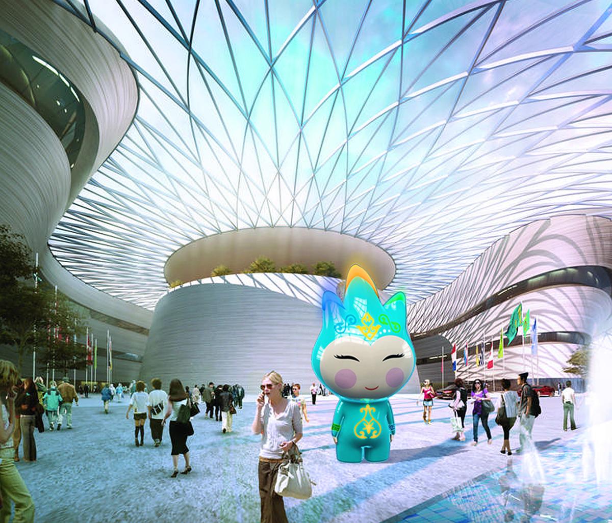 Astana EXPO 2017 Maskot/Talisman Design