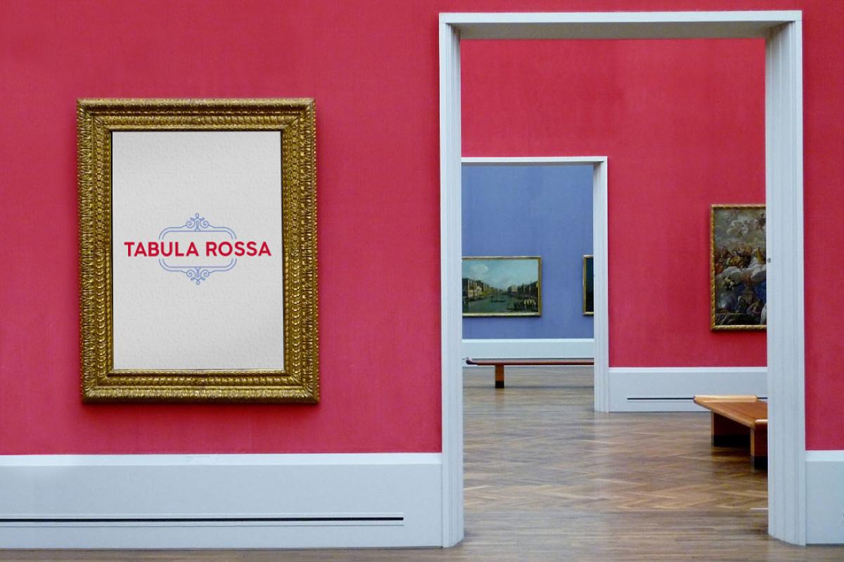 "Rahmen ""Tabula Rossa"" Corporate Design"