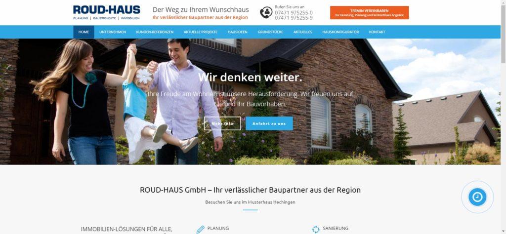 ROUD HAUS Webdesign-agentur in Balingen, Zollernalbkreis